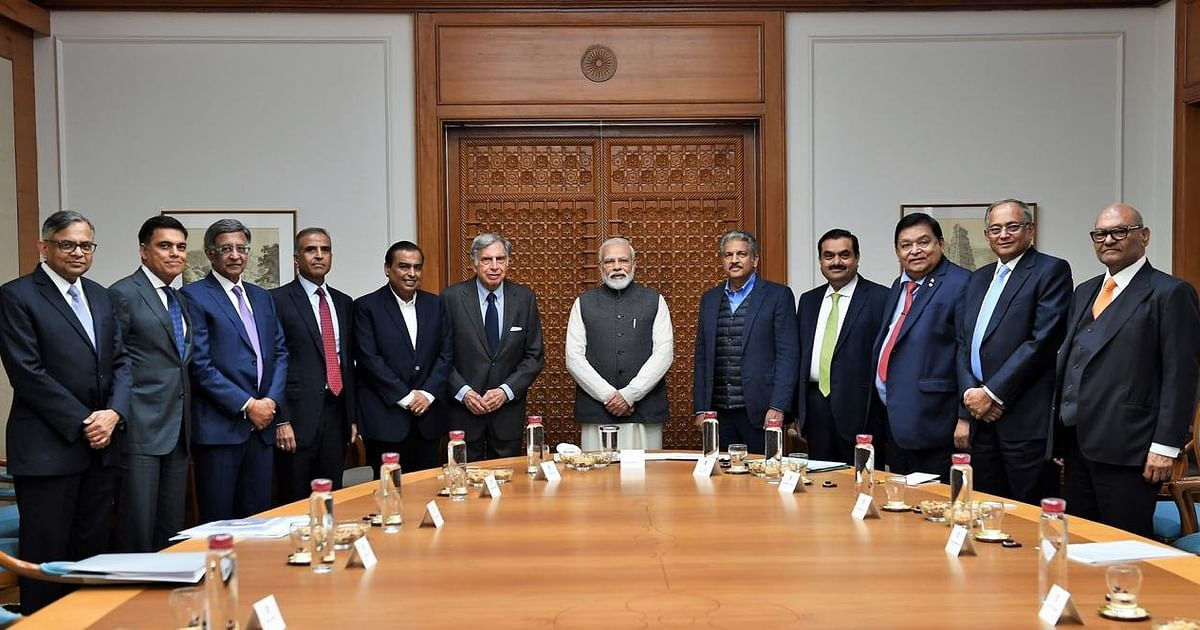 PM Modi Meets Ambani, Adani, Other India Inc. Heads To Discuss Economy