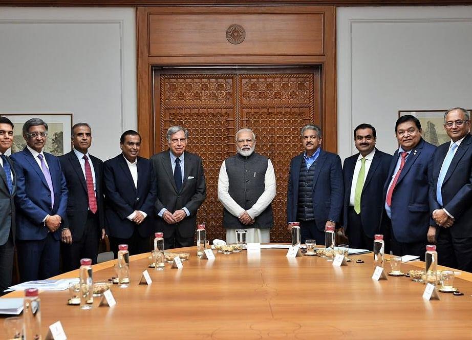 PM Modi Meets Ambani, Adani, Other India Inc. Heads To Discuss Economy