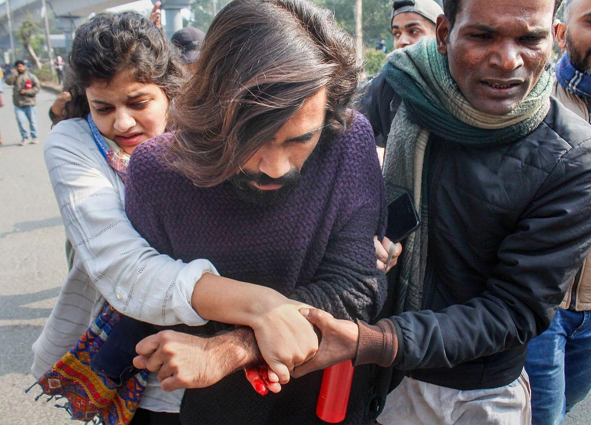 Jamia Student Injured As Man Fires At Anti-Citizenship Amendment Act Protesters