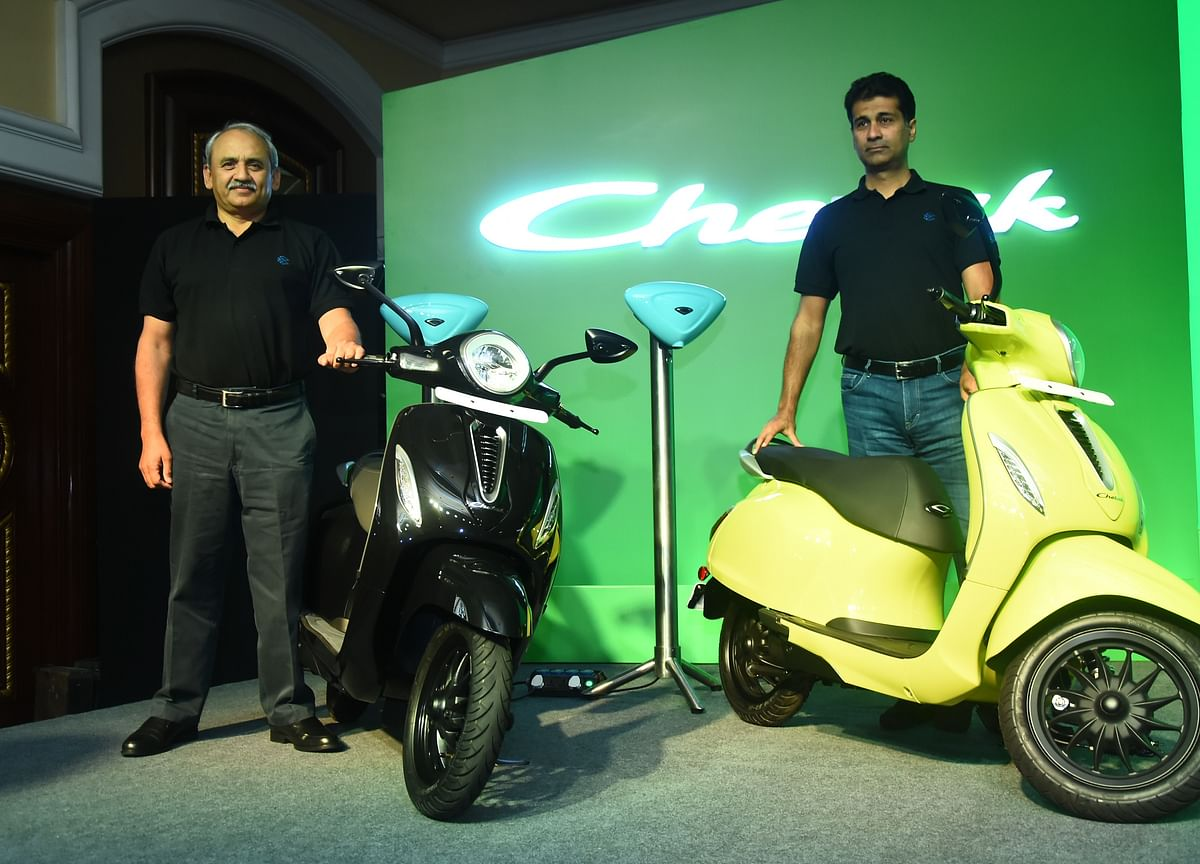 Bajaj Launches Chetak Electric Scooter At Rs 1 Lakh, Bookings Start Tomorrow