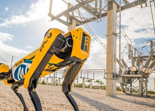 Boston Dynamics Robot Dog Goes on Patrol at Norwegian Oil Rig