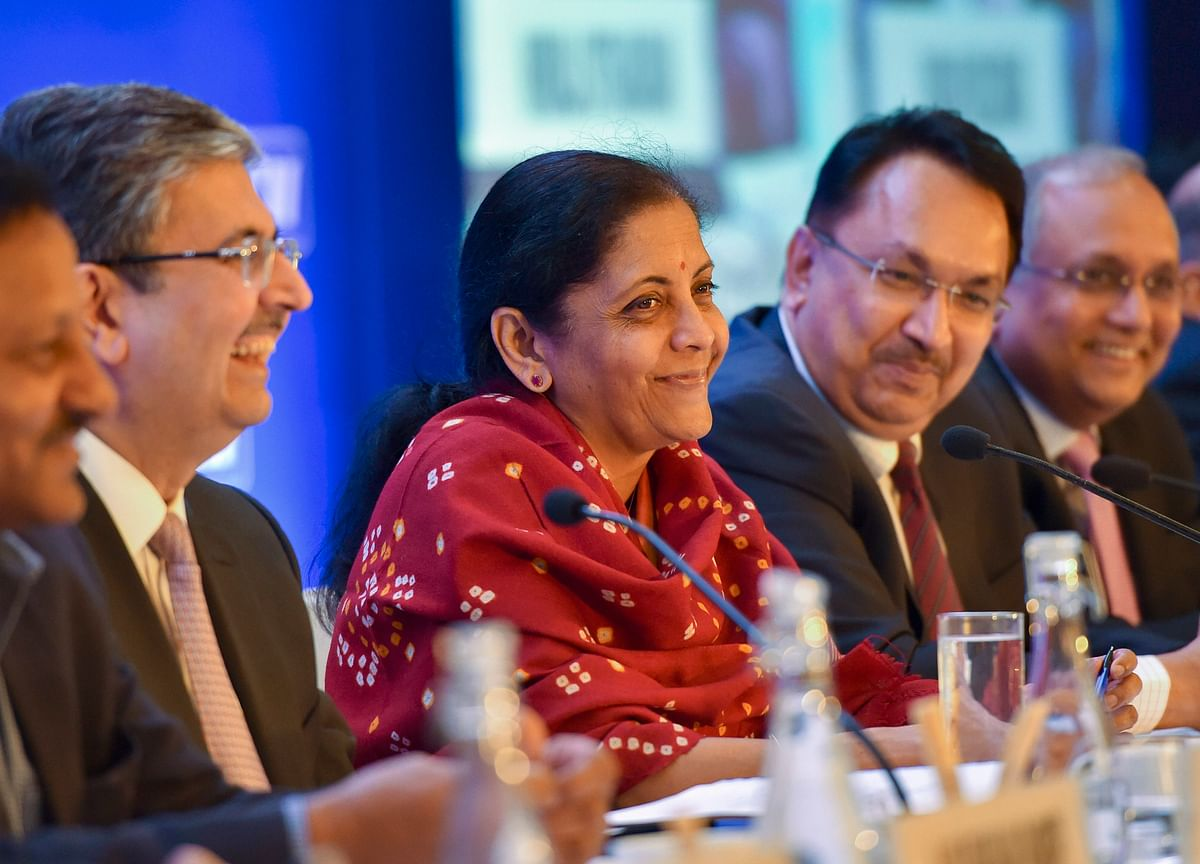 Finance Minister Exhorts India Inc. To Shun Hesitation And Help Push Growth