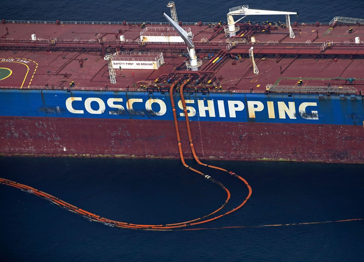 U.S. Lifts Sanctions on Unit of China's Biggest Shipping Company