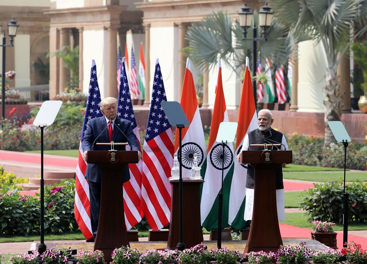 Donald Trump India Visit Updates: Trump Says U.S.-India Trade Deal 'Could' Happen By End Of 2020