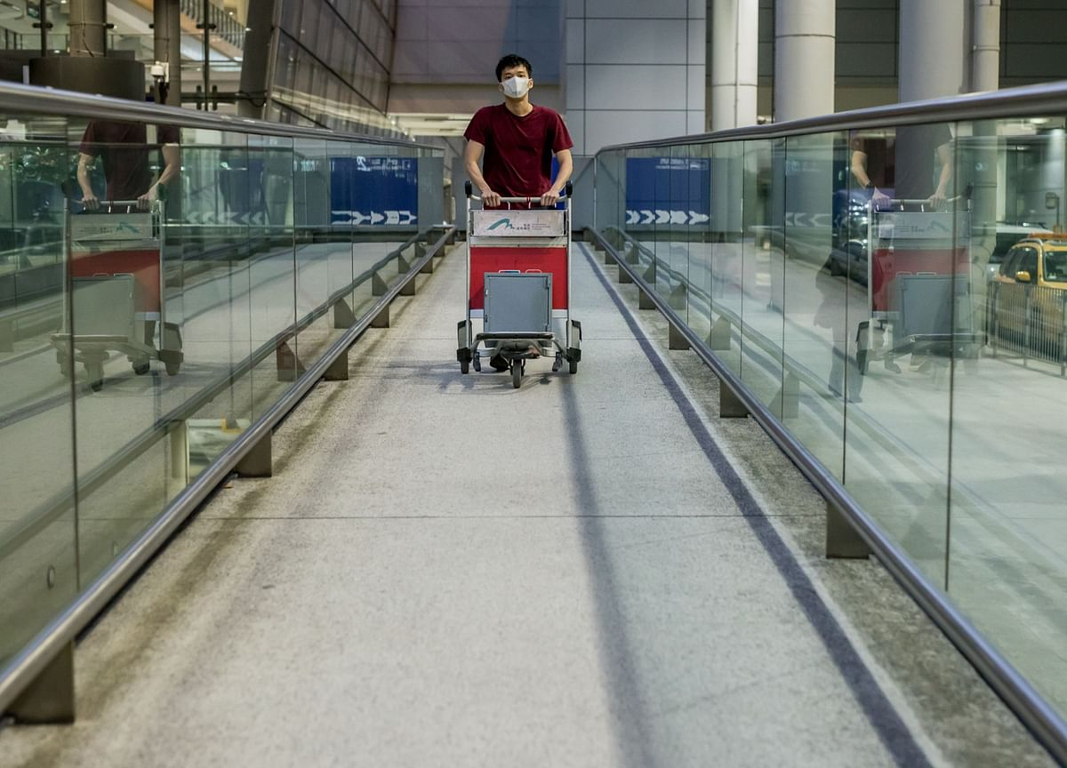 Wuhan Airport Reminds Rescue Crew of a Zombie Apocalypse