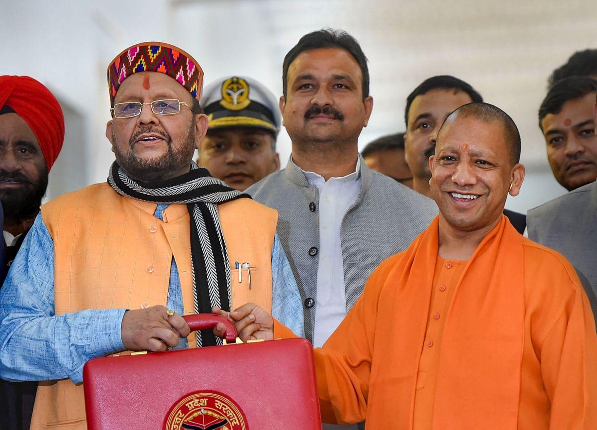 Uttar Pradesh Unveils Rs 5.12 Lakh Crore Budget, Aims To Become A $1 Trillion Economy