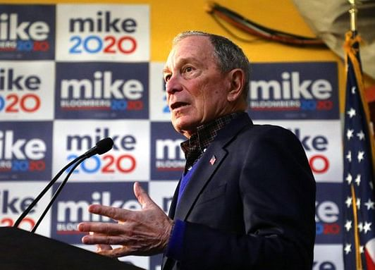 Bloomberg Spends Record Amount on Campaign in Fourth Quarter
