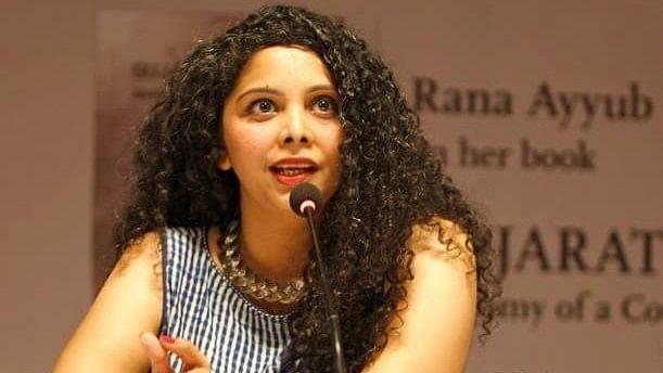 Journalist Rana Ayyub. (Image: The Quint)