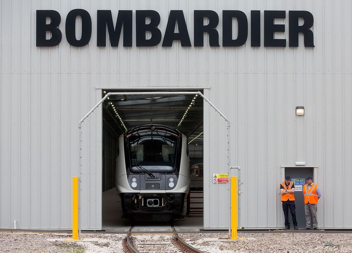 Alstom to Buy Bombardier Train Unit for Up to $6.7 Billion