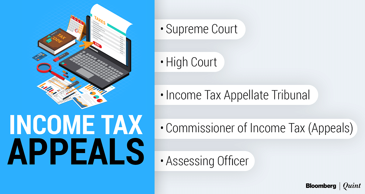 Different levels of tax appeals - starting from the Assessing Officer to the Supreme Court. (Image: BloombergQuint)