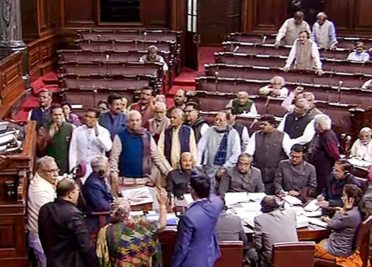 Rajya Sabha Adjourned For The Day Amid Opposition Protests Over Citizenship Amendment Act, National Population Register