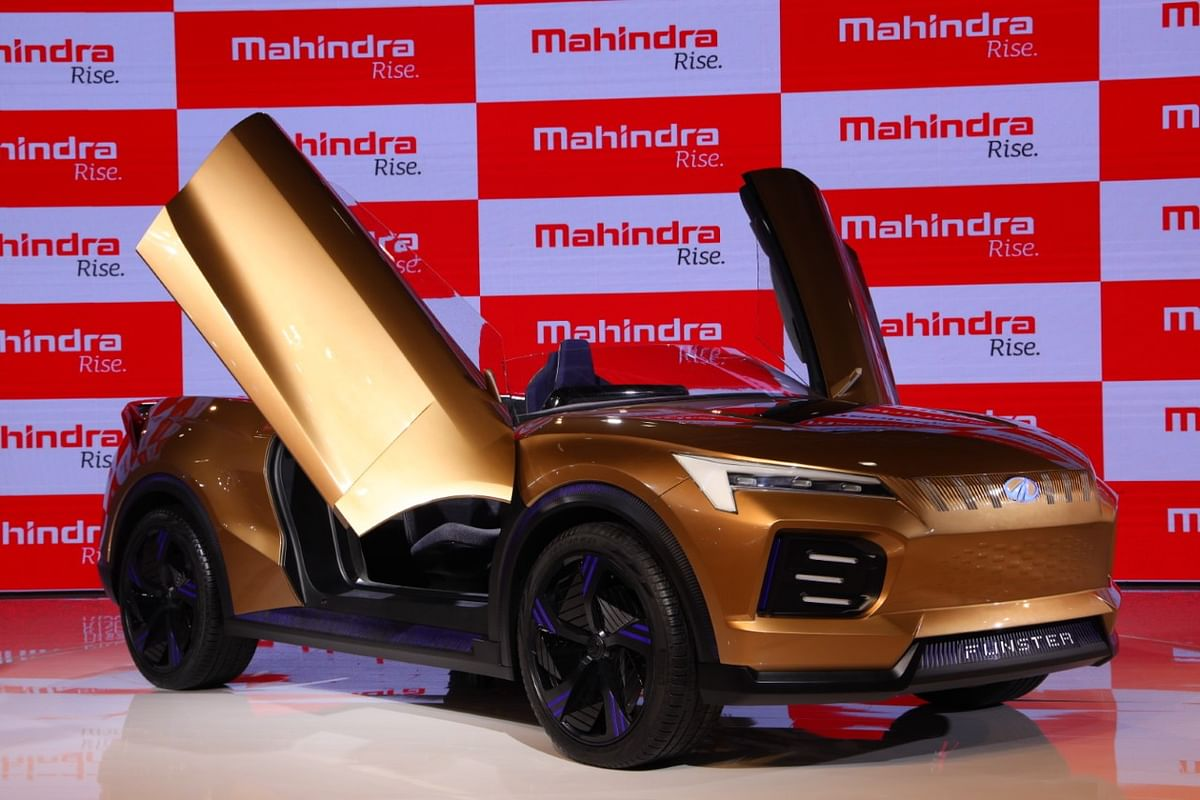 Mahindra & Mahindra concept car Funster. (Source: M&M's press release)