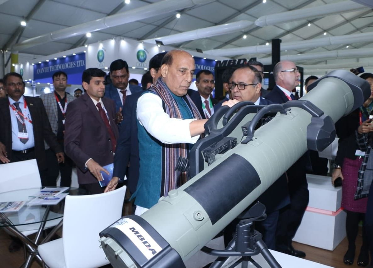 Defence Expo: $5 Billion Defence Export Target To Be Achieved By 2024: Rajnath Singh
