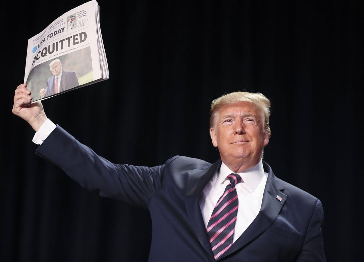 Trump Ousts Impeachment Witnesses Sondland and Vindman