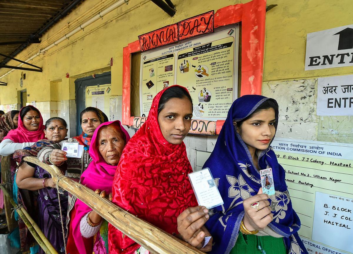Delhi Assembly Polls: Delhi Records 57% Voter Turnout Till 6 P.M.