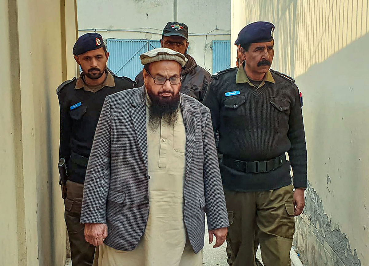 Pakistan Court Sentences Hafiz Saeed To 11 Years In Jail In Terror Financing Cases