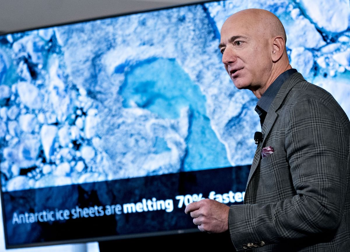 Bezos Says He'll Commit $10 Billion to Fight Climate Change