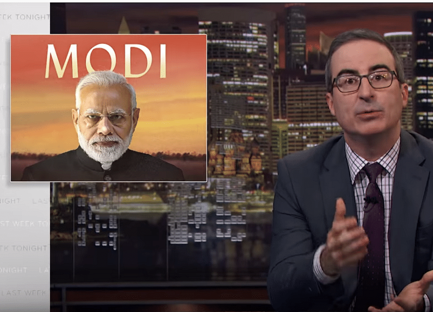 Disney India Blocks John Oliver Show Critical of Narendra Modi