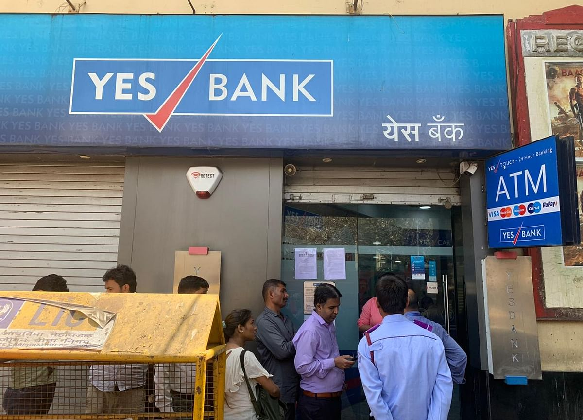 Yes Bank's Deposits Slumped as Customers Withdrew