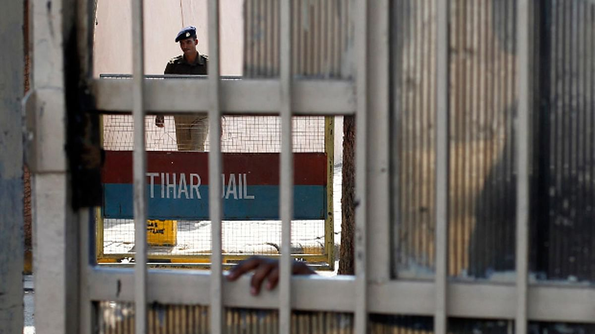 Tihar Jail, seen from outside. (Photograph: The Quint)