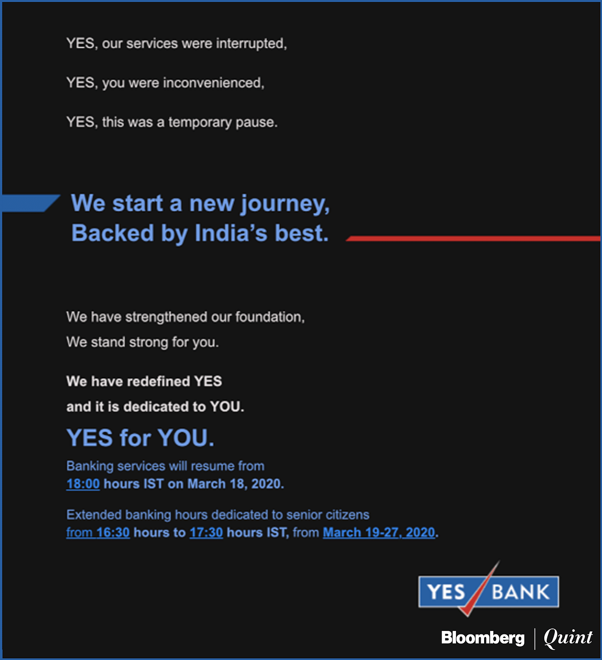 Yes Bank Starts Down The Long Road To Regaining Depositor Trust
