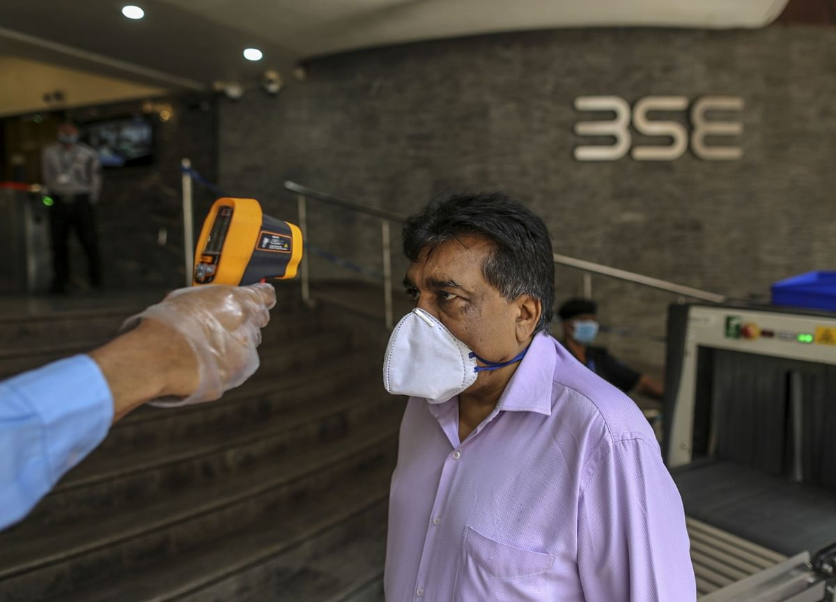 Coronavirus Pushes India Equities Toward Worst Quarterly Drop