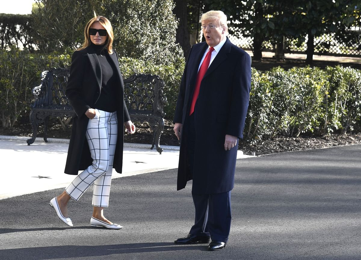 Trump Says First Lady Tested Negative For Coronavirus