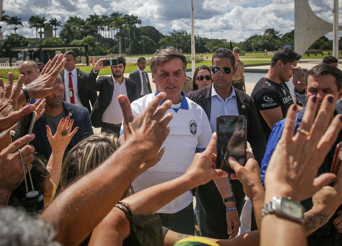 Facebook, Twitter, YouTube Remove Posts From Bolsonaro