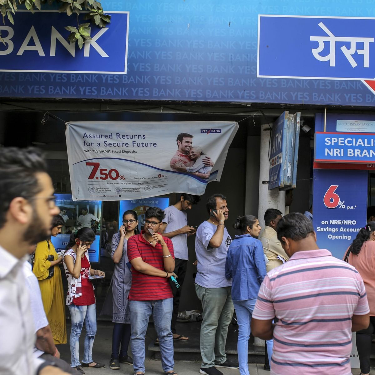 Image result for yes bank user