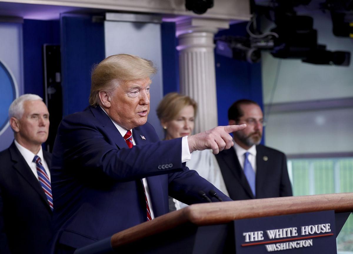 Trump, Officials Escalate Allegation China Hid Virus Spread