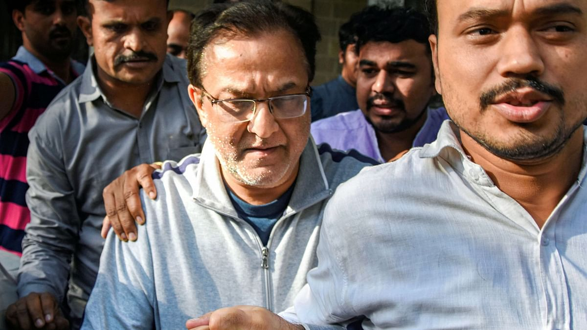 A file photo of Yes Bank founder Rana Kapoor while under investigation. (Photo: PTI)