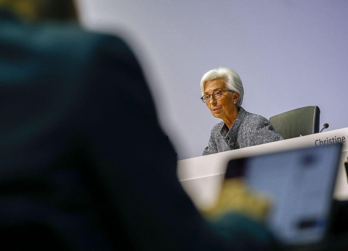 Europe Bonds Soar as Lagarde Pledges No Limits to ECB Action