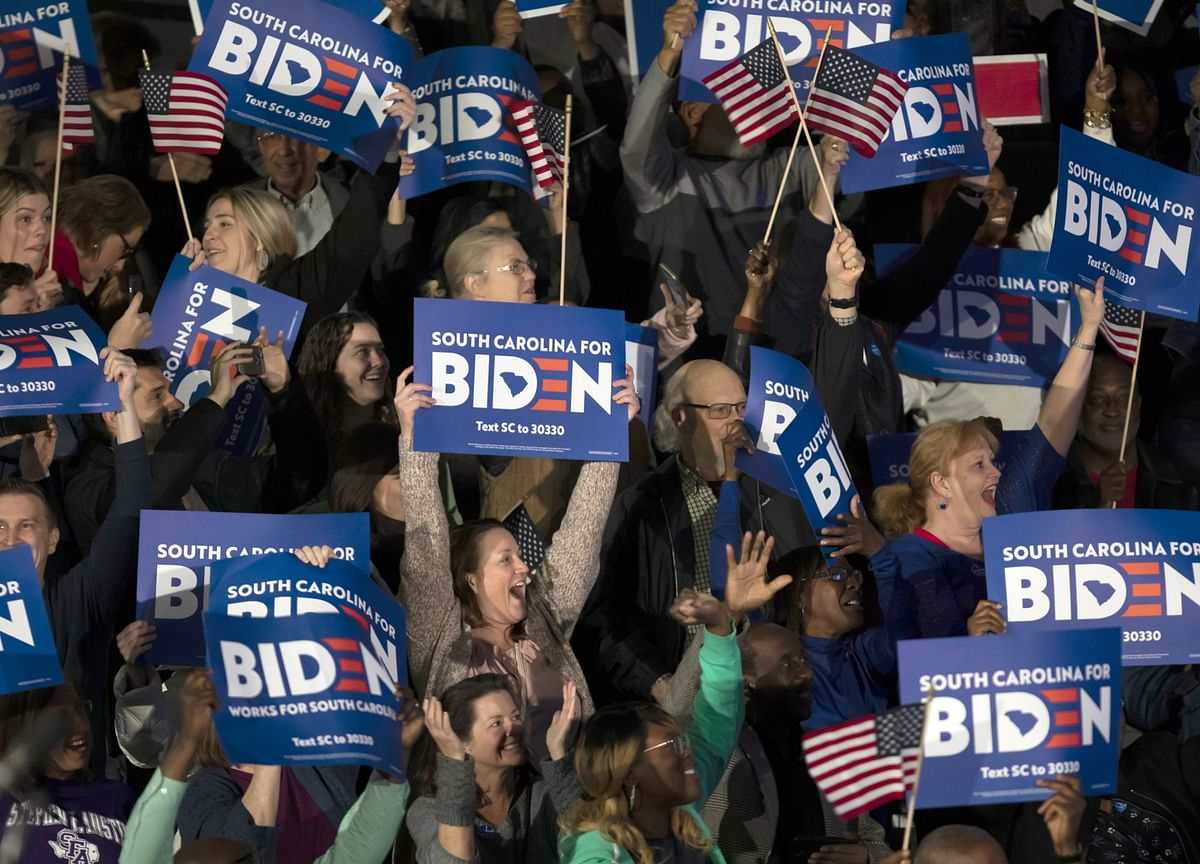 Biden Says He Raised $15 Million in March: Campaign Update