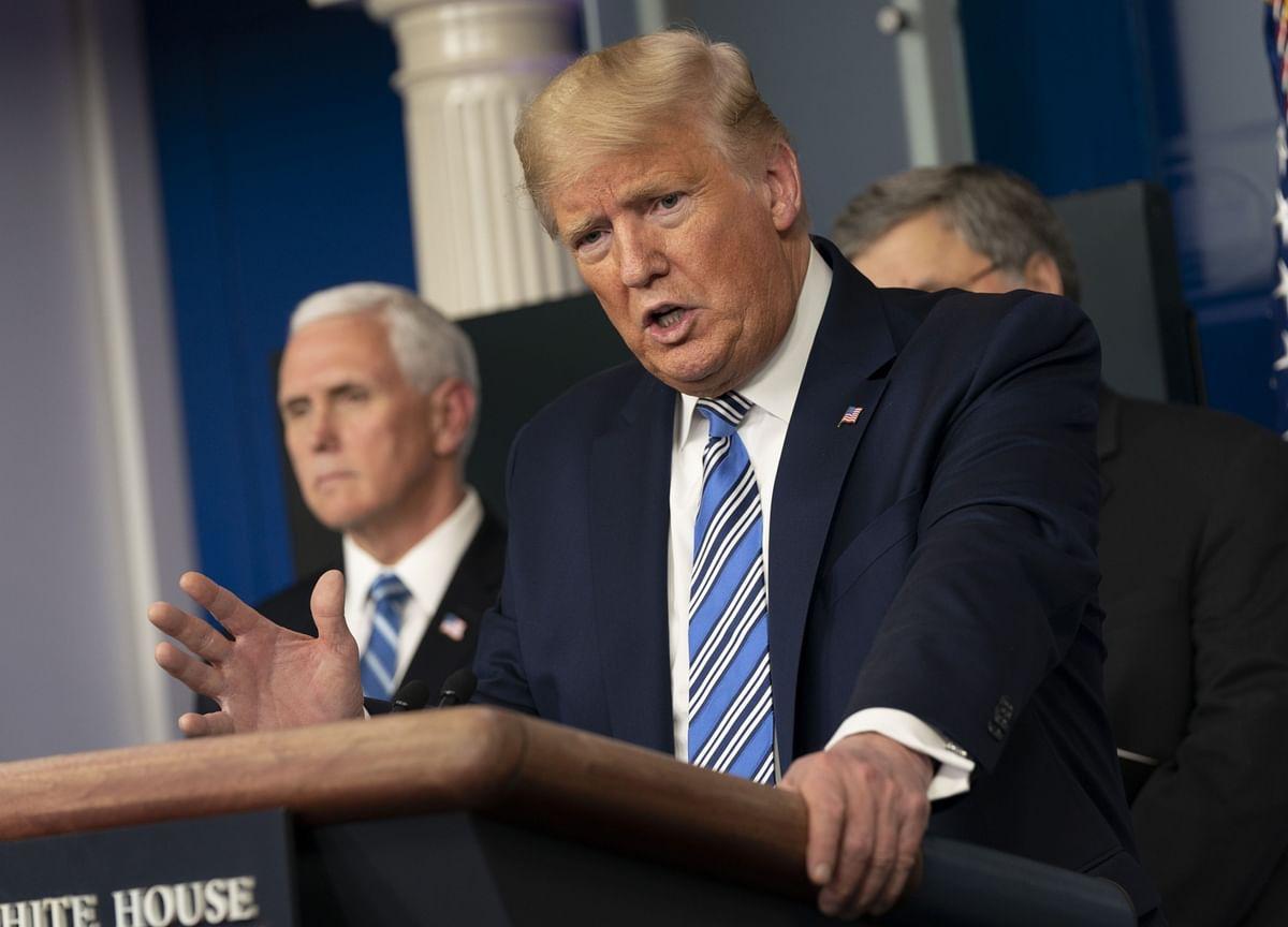 Trump Says U.S. Isn't 'Built to Be Shut Down' Over Virus