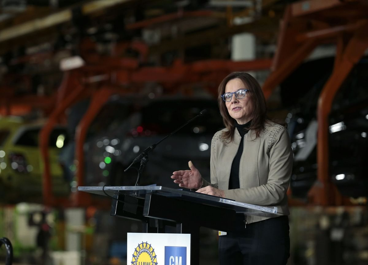 GM CEO's 16-Month Effort to Repair Trump Ties Shatters in a Day