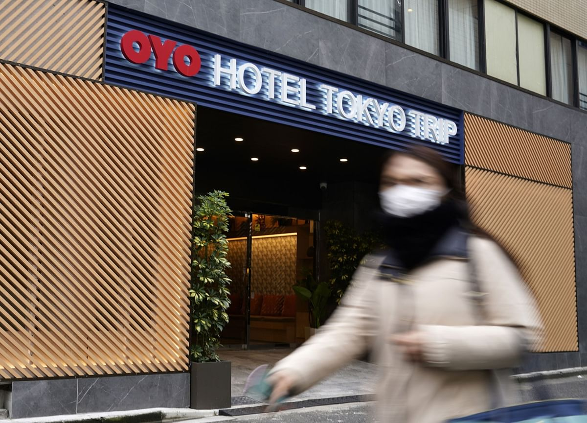 Oyo Entices Virus-Stricken Hotels in Japan With Cash