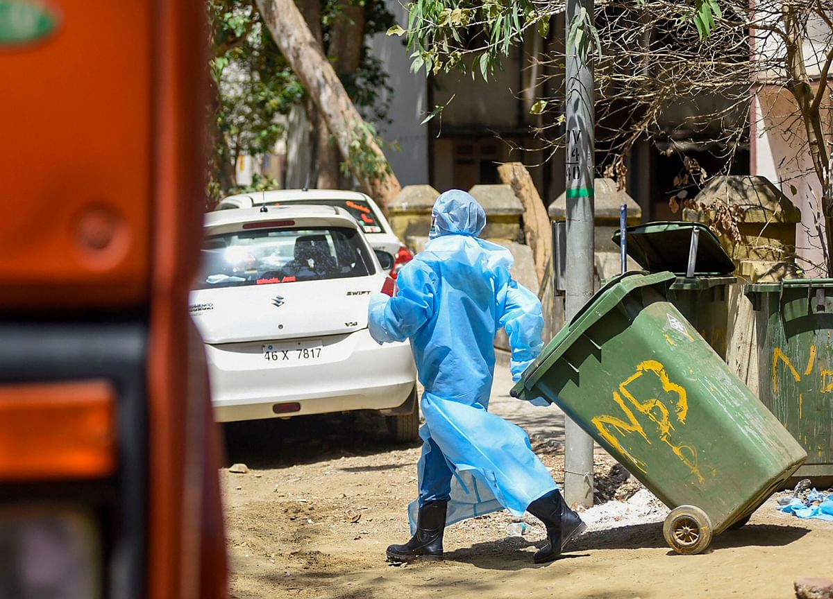 Sanitation Workers At Risk From Discarded Medical Waste Related To Covid-19