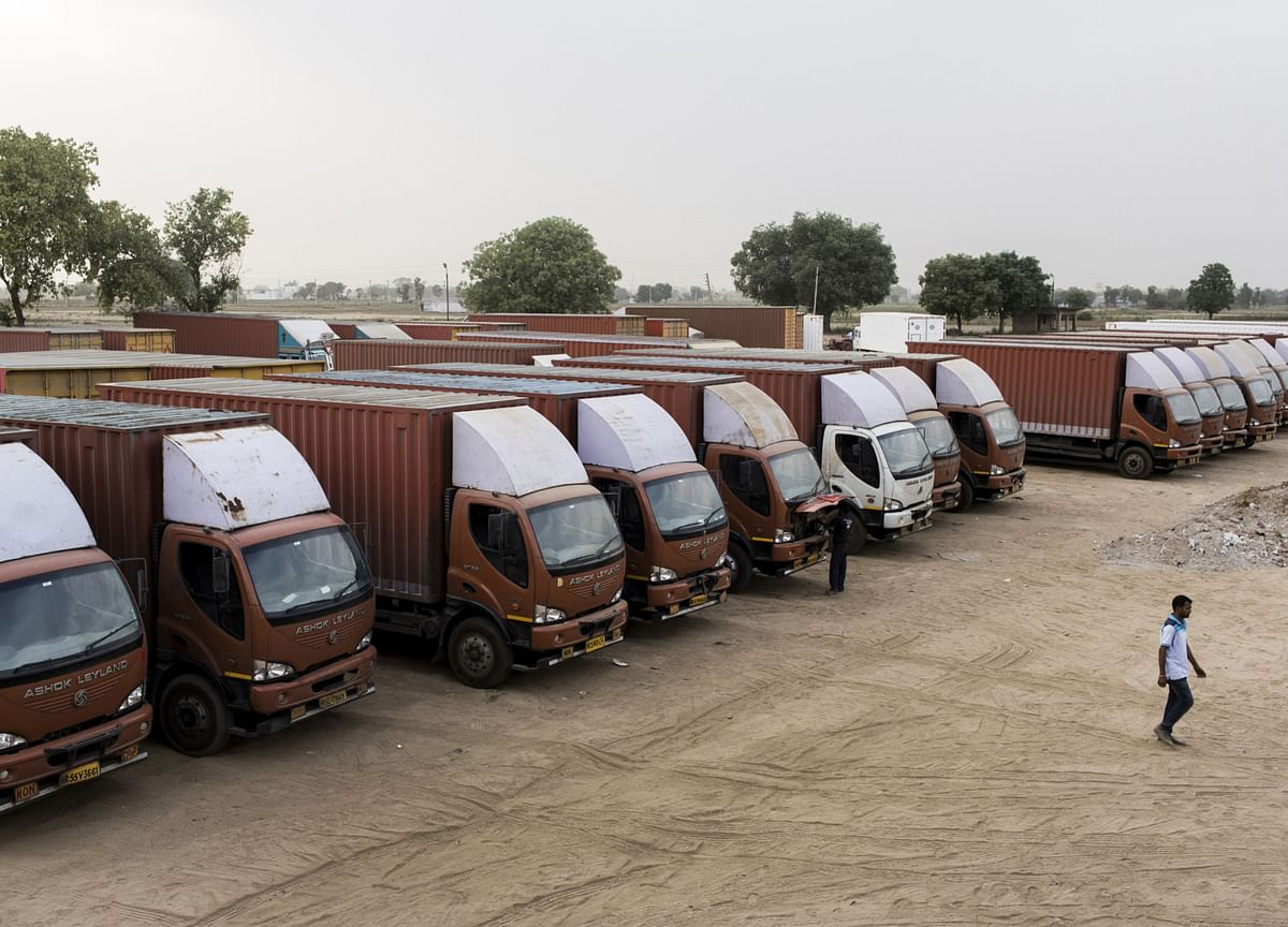Truckers in India Seek Insurance Cover for Staff Fearing Virus