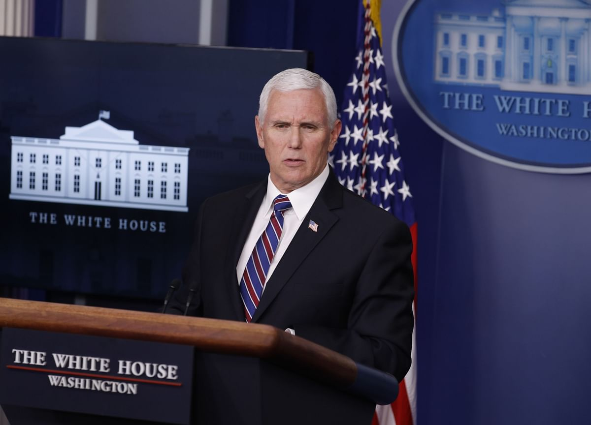 Pence Says U.S. Has Virus Test Capacity for States to Reopen