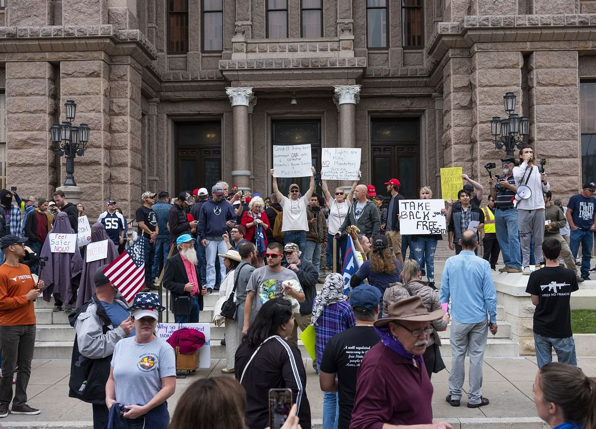 Far-Right Social Media Helps Stir Protests Over Quarantines