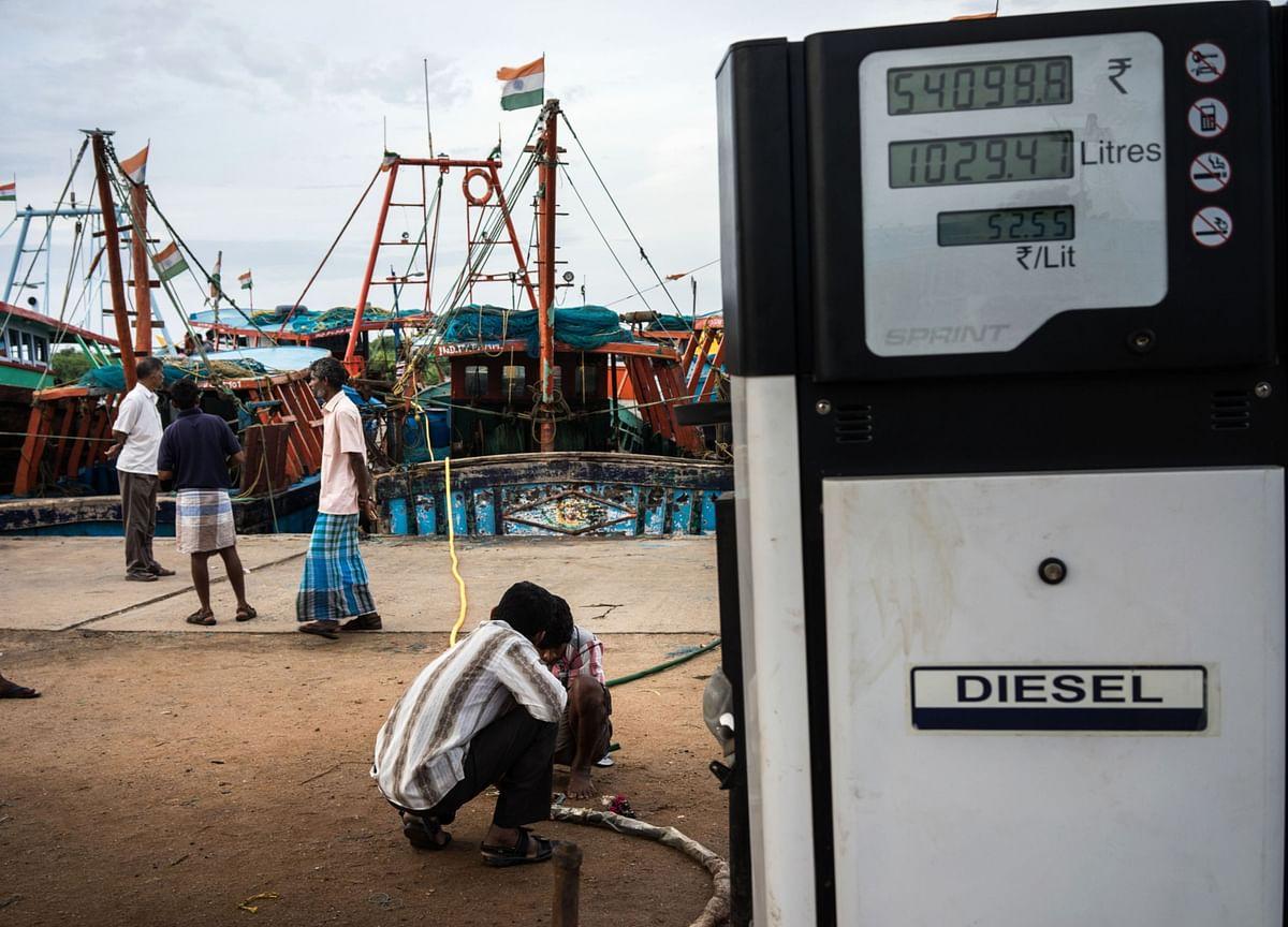 India's Diesel Flood Draws Rare Sales on Crashing Local Demand