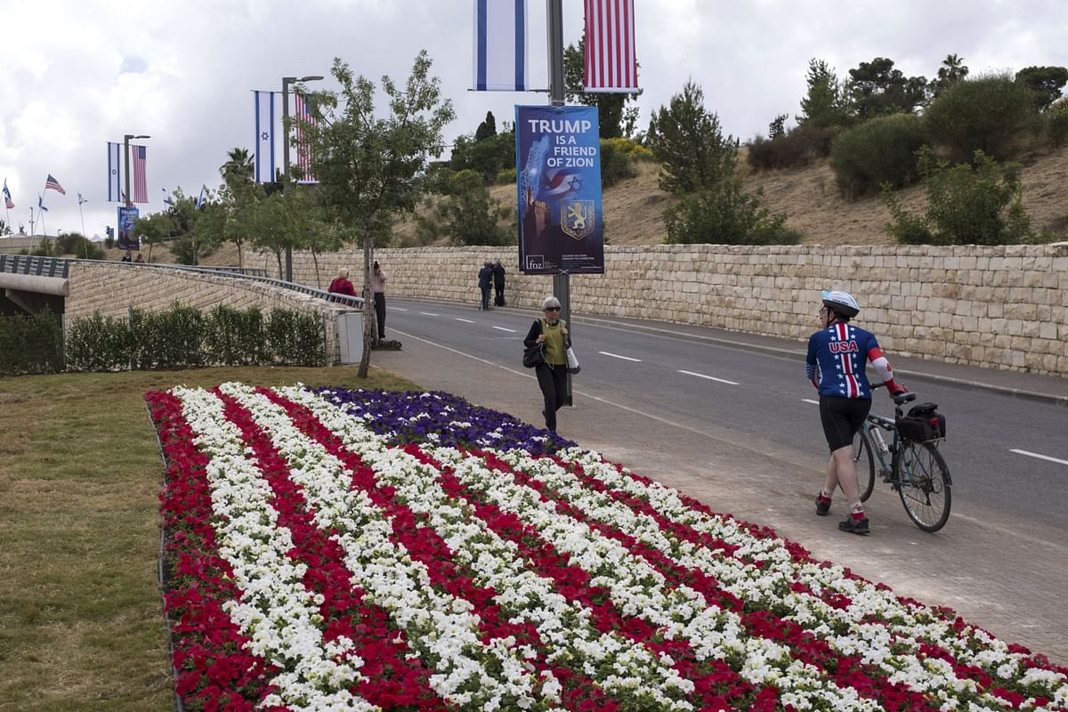 Biden Says He Wouldn't Move U.S. Embassy From Jerusalem