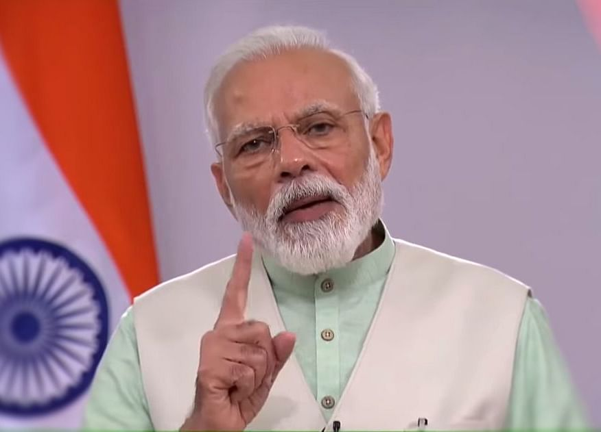 PM Modi To Address The Nation On Tuesday Evening