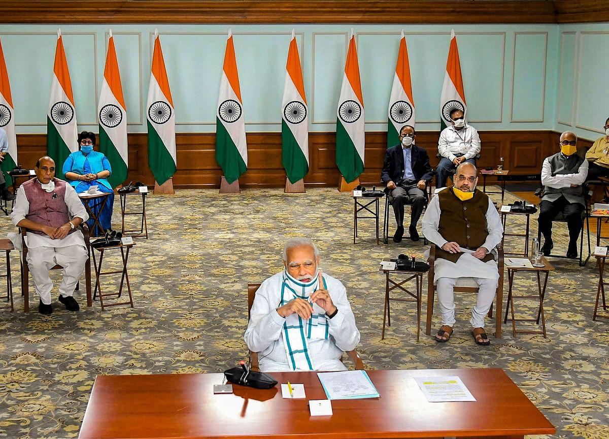 India's Modi Says Need to Focus on Economy While Fighting Virus