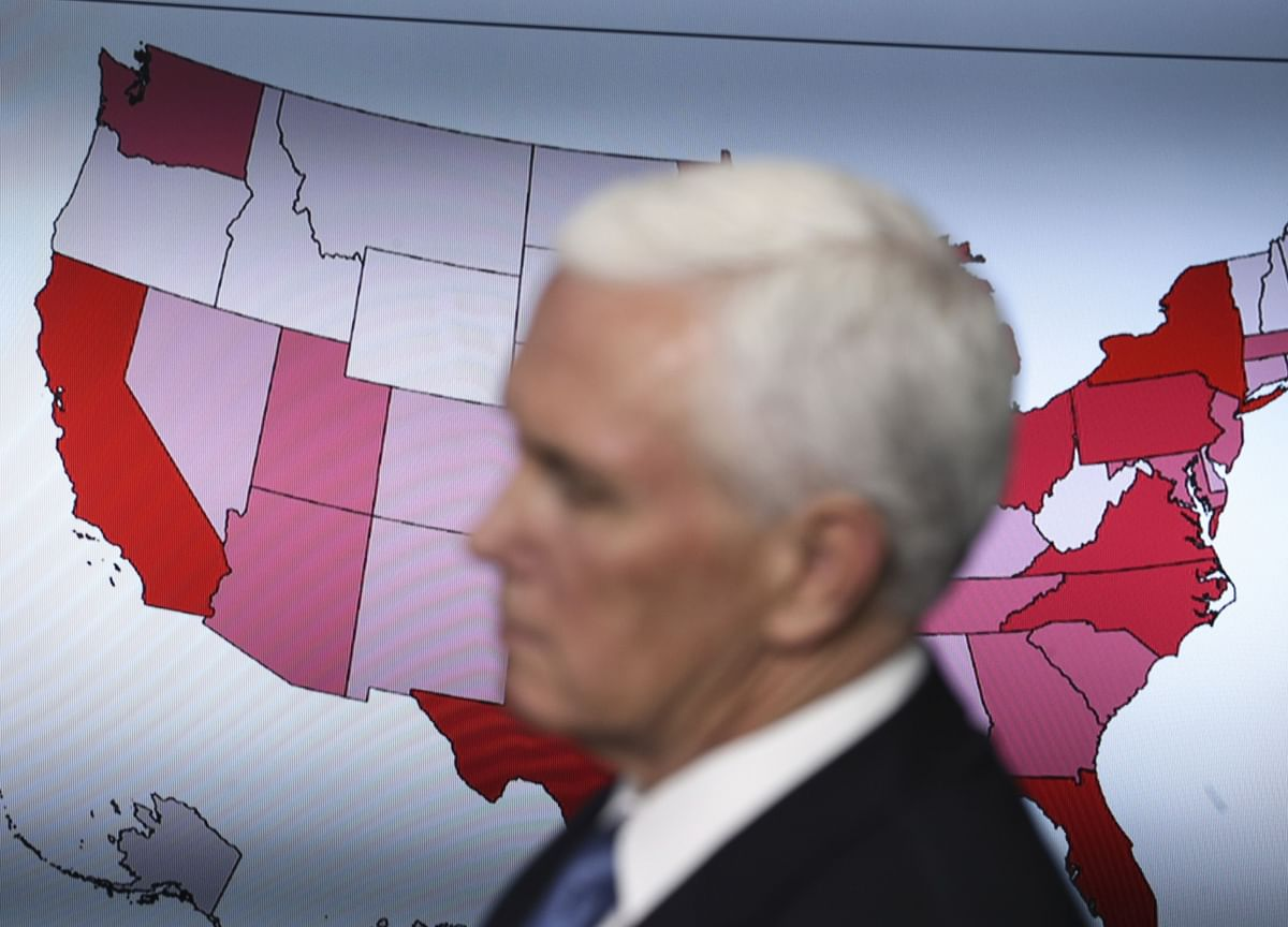 Pence to Discuss Test Shortages With Governors, Trump Says