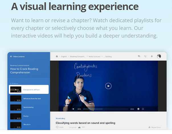 A screengrab of an online tutorial at Toppr. (Image: Toppr website)