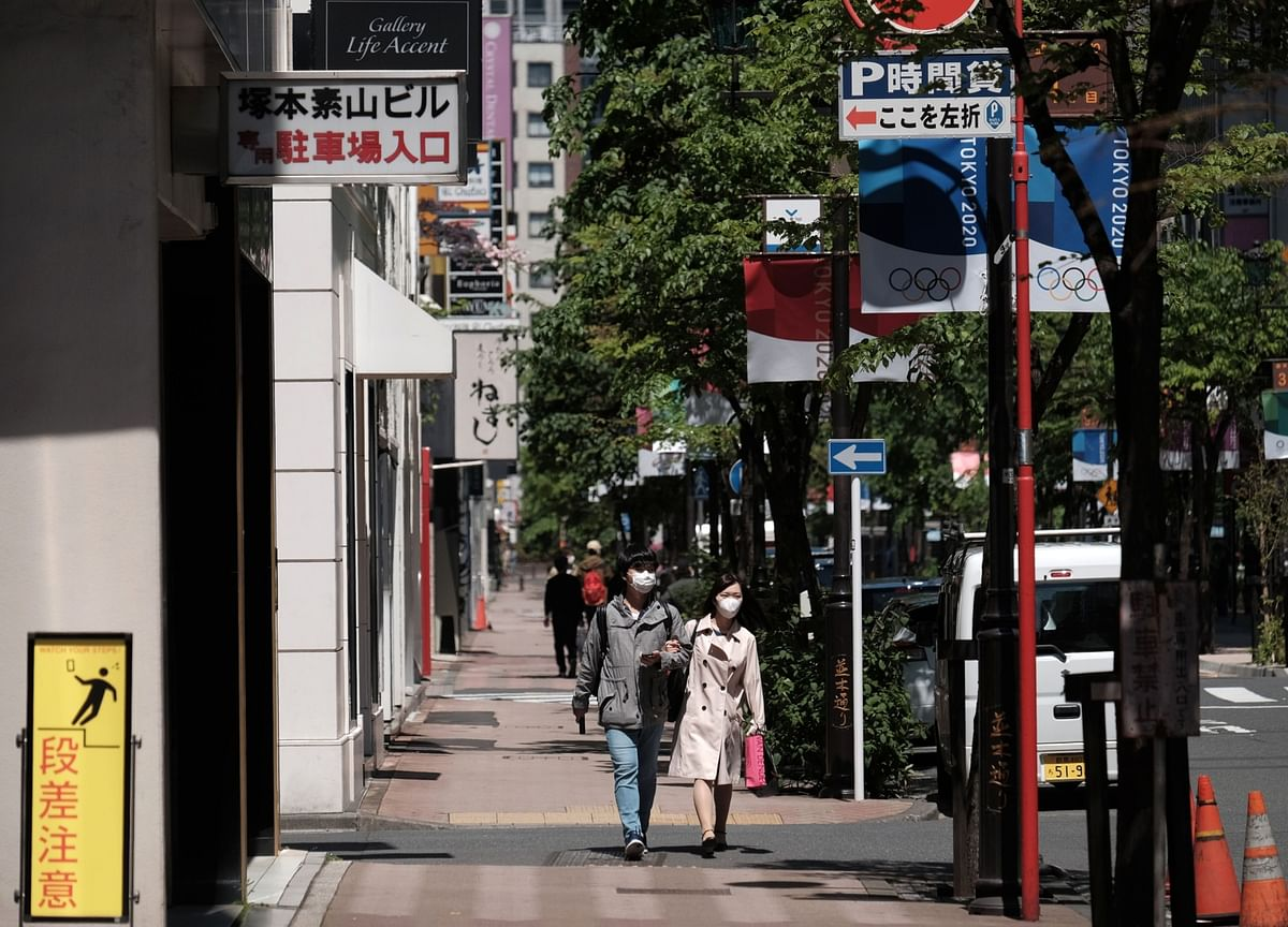 Everyone's Running Bank Errands Instead of Staying Home in Japan