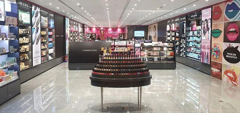 Nykaa Luxe store in Mumbai. (Image: Nykaa website)