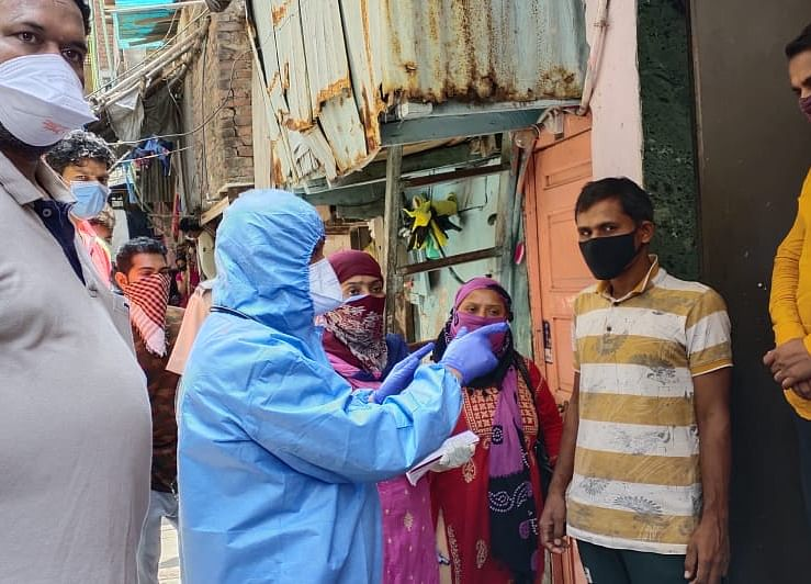 Dharavi Records 50 New Covid-19 Cases Today
