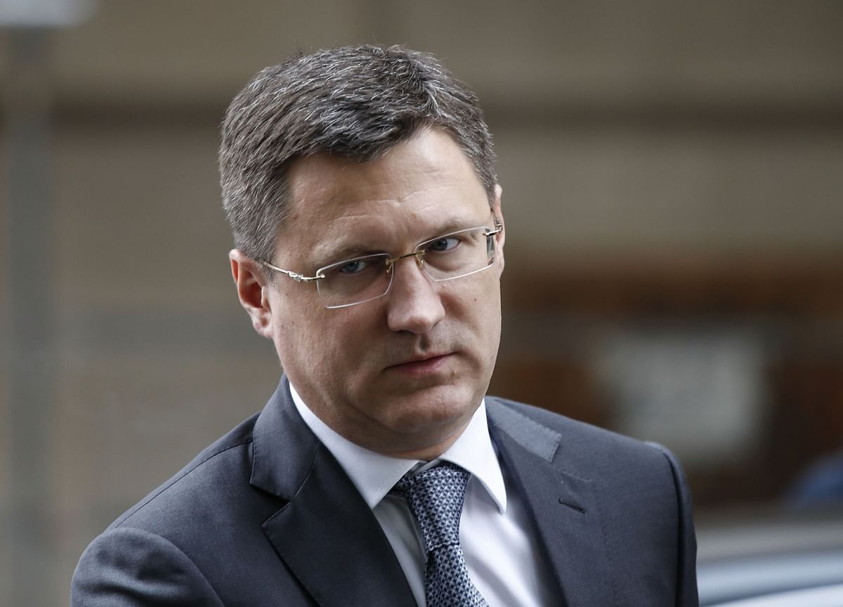 Russia's Novak Sees Oil Prices at $50-55 a Barrel Next Year